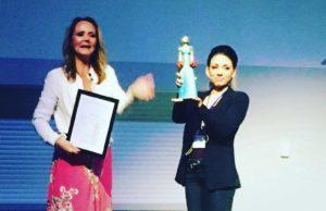 Marika Lejon mottoar Dixi-prisen av Linda Hofstad Helleland